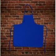 Avental Liso Oxford Azul - Tamanho Grande