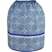 Capa De Botijão De Gás Azul Azulejo