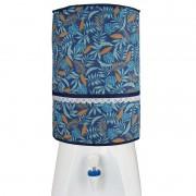 Capa De Galão De Água 20l Azul Tropical