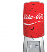 Capa De Galão De Água Divertida 20l: Beba Cola