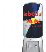 Capa De Galão De Água Divertida 20l: Bebe Bull