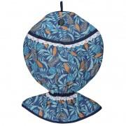 Puxa Saco Estampado Peixe® Azul Tropical
