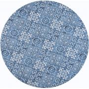 Sousplat Azul Azulejo 2 peças