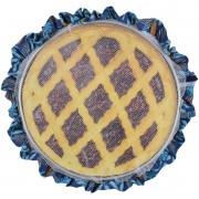 Tule De Assadeira Rendinha cobre comida de filó Azul Tropical