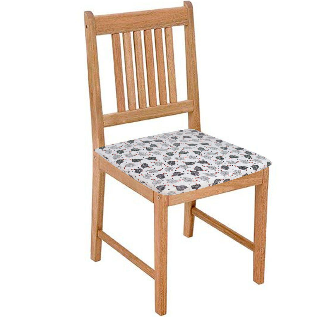 Assento De Cadeira 2 Unidades Angola  - RECANTO DA COSTURA