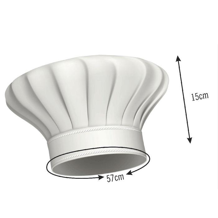 Avental com Touca Cozinheiro Maçã  - RECANTO DA COSTURA