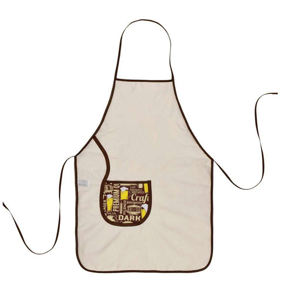 Avental De Cozinha Dupla Face Beer  - RECANTO DA COSTURA