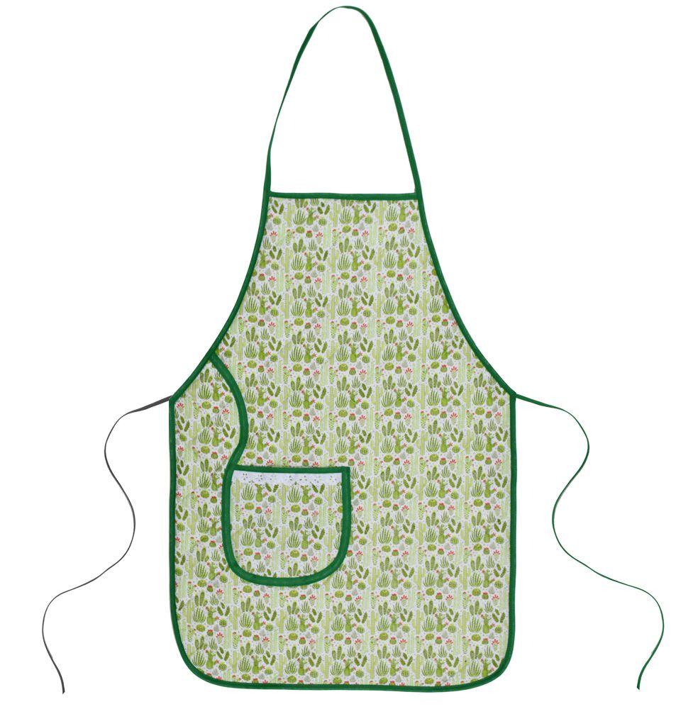 Avental De Cozinha Forro Tecido Cacto  - RECANTO DA COSTURA