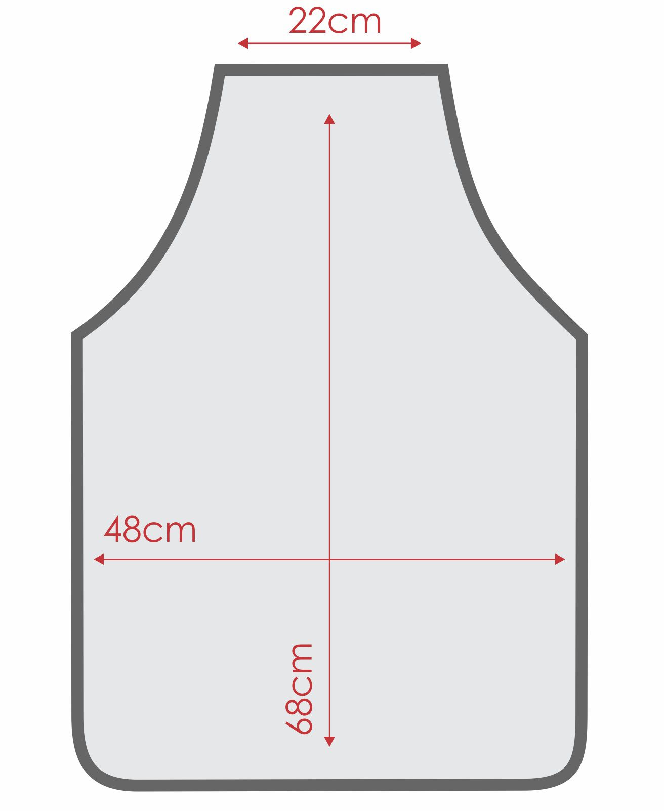 Avental De Cozinha Forro Tecido Listra Marrom  - RECANTO DA COSTURA
