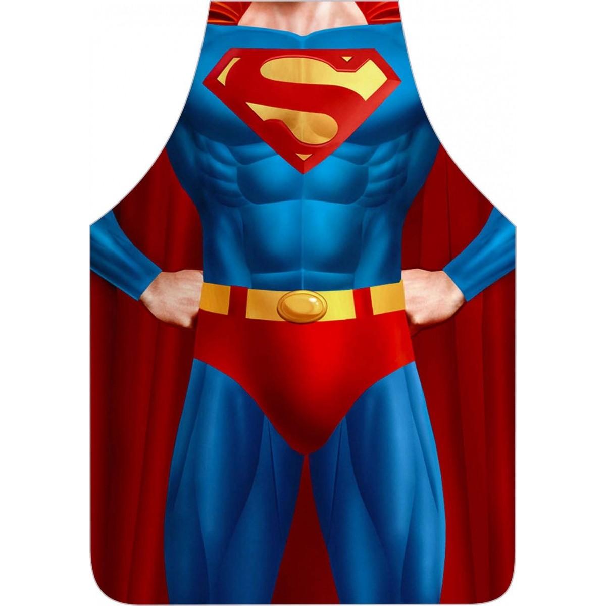 Avental Divertido E Personalizado: Superman  - RECANTO DA COSTURA