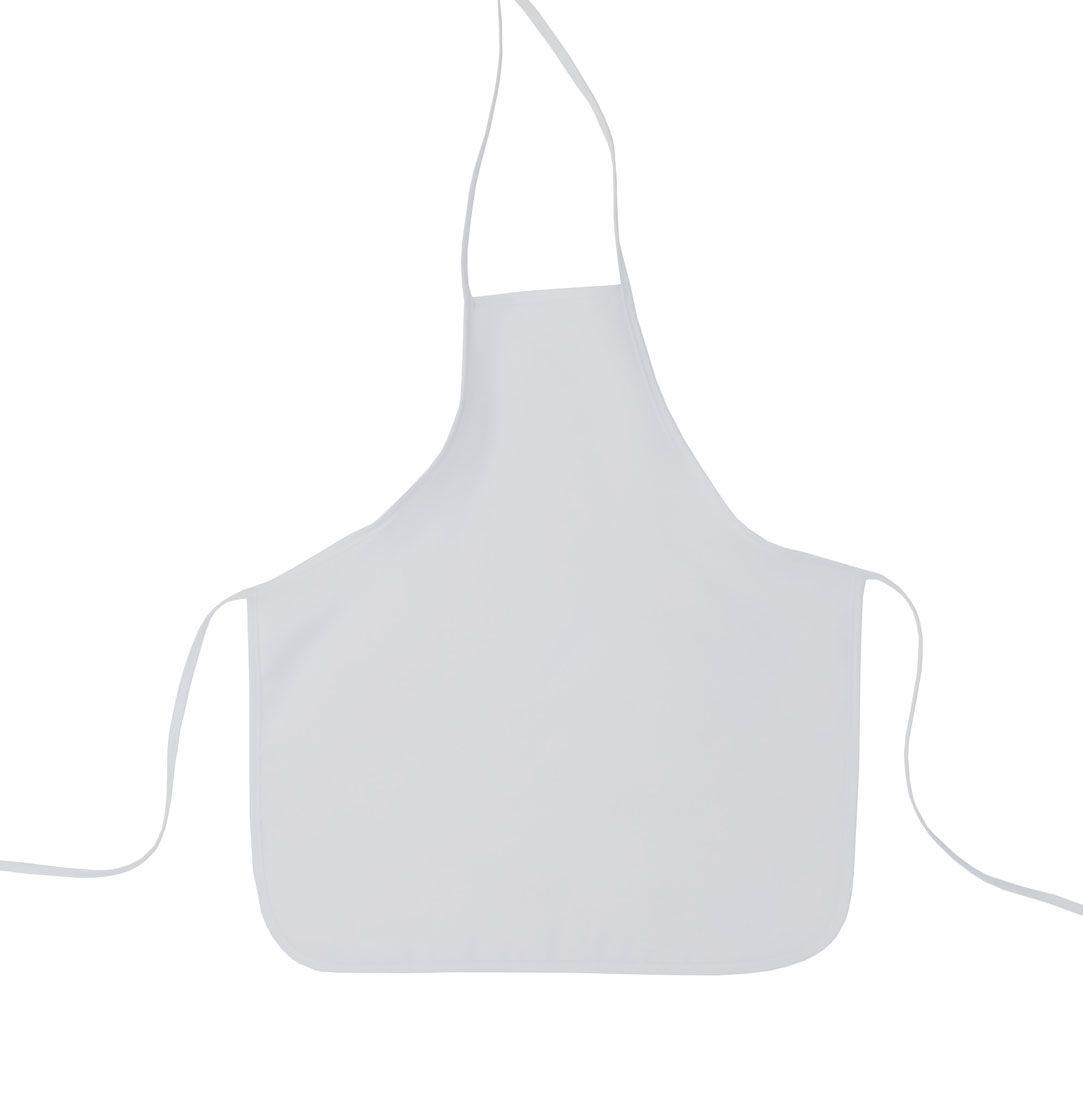 Avental Infantil Com Touca De Cozinheiro Branco Oxford  - RECANTO DA COSTURA