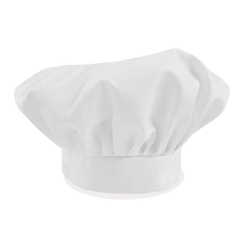 Avental Liso De Oxford Com Chapéu De Cozinheiro Branco  - RECANTO DA COSTURA