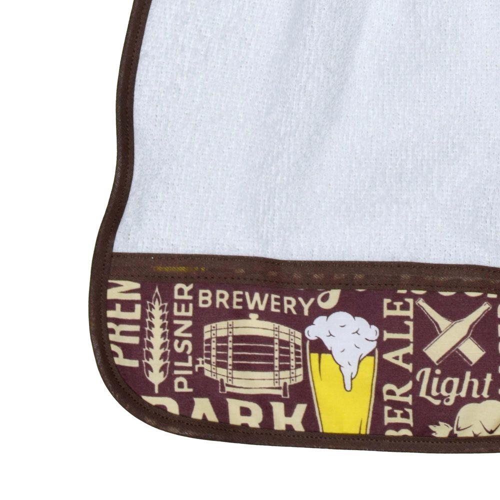 Bate Mão Atoalhado Beer  - RECANTO DA COSTURA