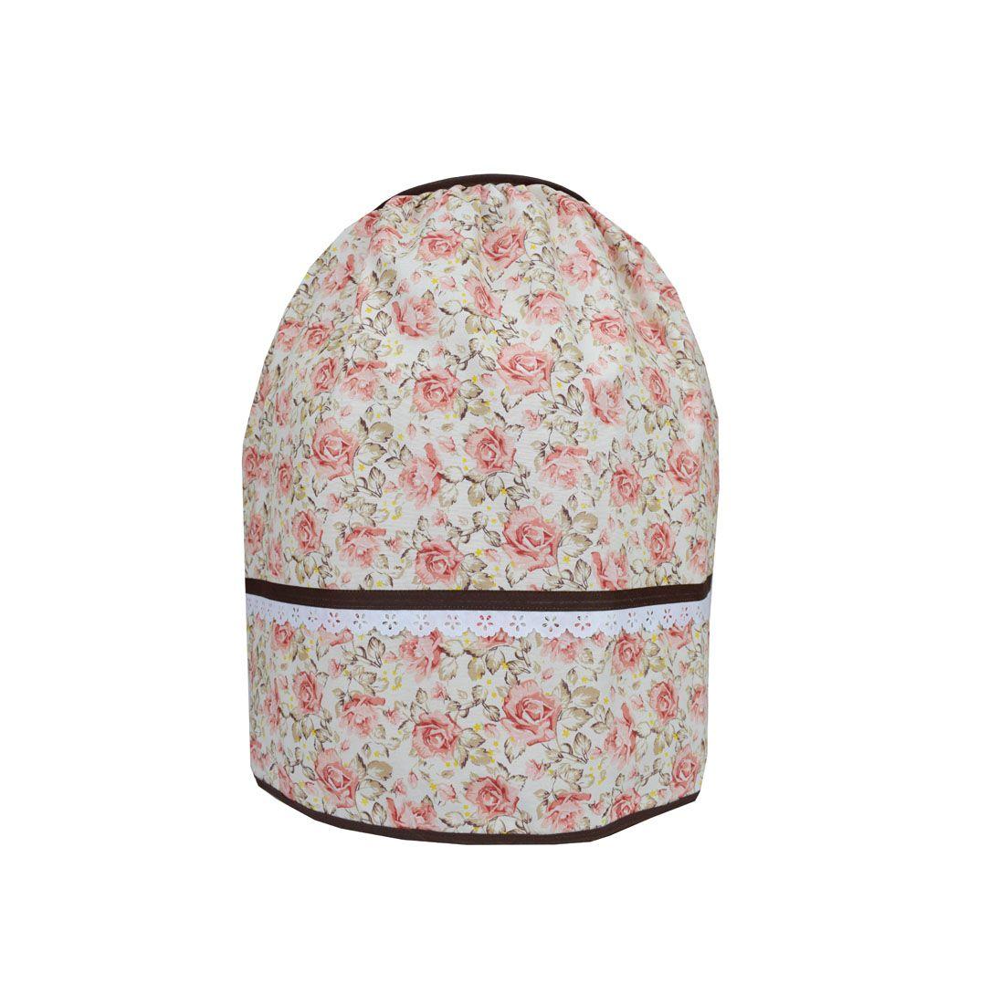 Capa De Botijão De Gás Floral  - RECANTO DA COSTURA