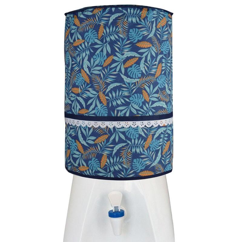 Capa De Galão De Água 20l Azul Tropical  - RECANTO DA COSTURA