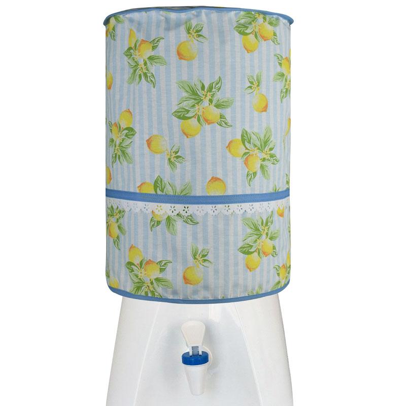 Capa De Galão De Água 20l Limão  - RECANTO DA COSTURA