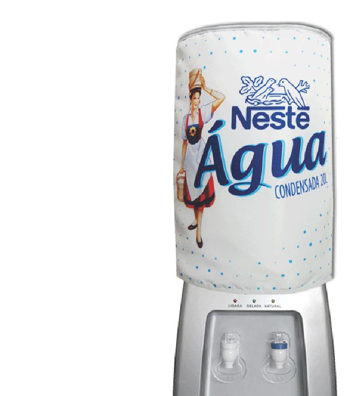 Capa De Galão De Água Divertida 20l: Água Condensada  - RECANTO DA COSTURA