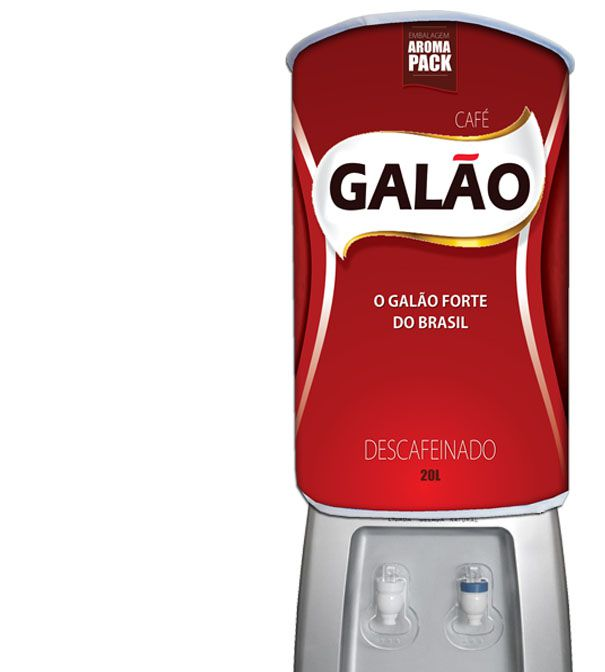 Capa De Galão De Água Divertida 20l: Café Galão  - RECANTO DA COSTURA