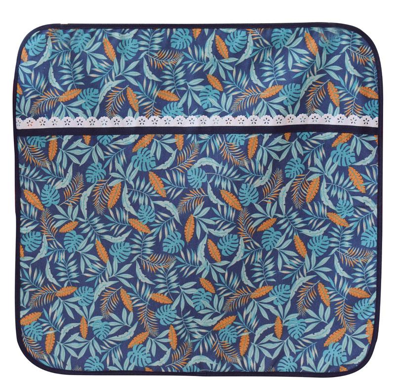 Capa Para Vidro De Fogão 4 Bocas Tropical Blue  - RECANTO DA COSTURA
