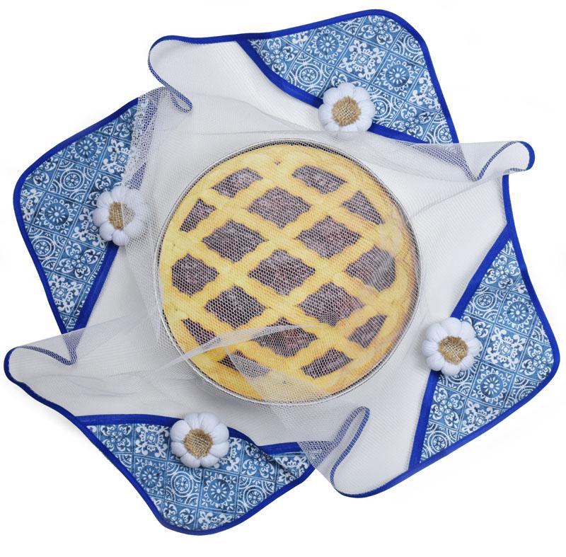 Cobre Alimento 75cm X 75cm Azulejo  - RECANTO DA COSTURA