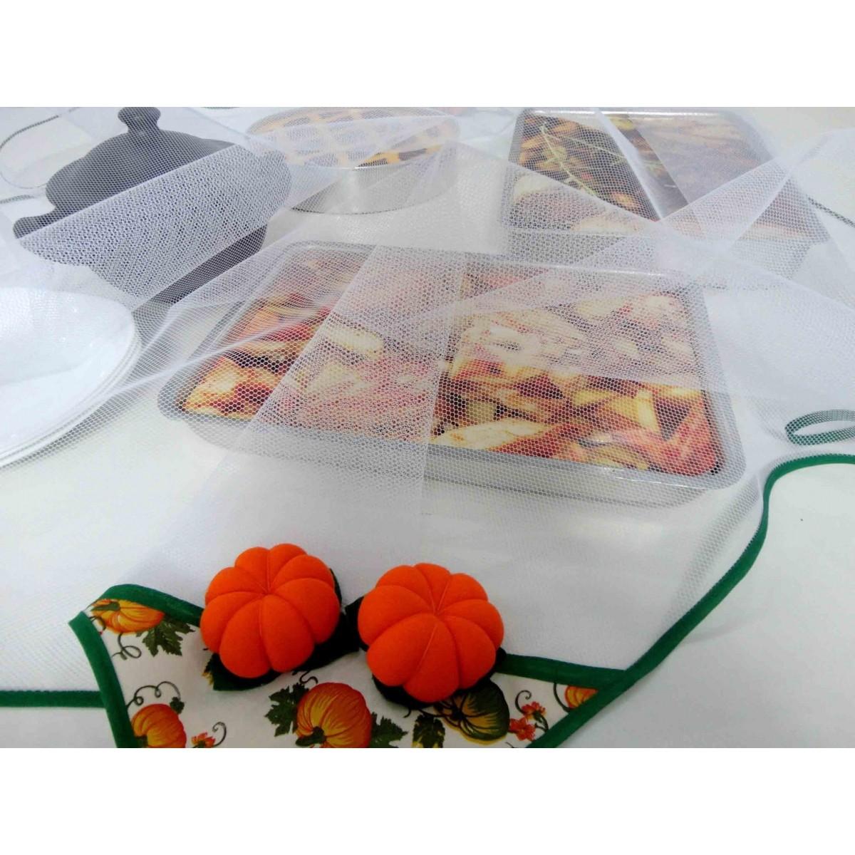 Cobre Alimento Grande Abóbora 1,50m X 1,50m  - RECANTO DA COSTURA