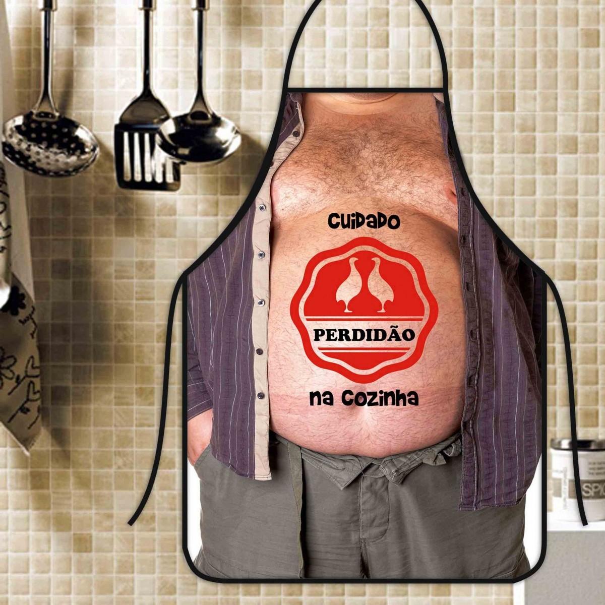 Avental Divertido E Personalizado: Perdidão Na Cozinha  - RECANTO DA COSTURA
