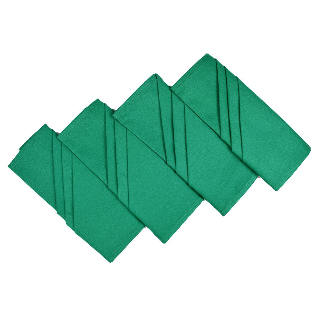Guardanapo De Mesa Natal 4 Unidades Verde  - RECANTO DA COSTURA