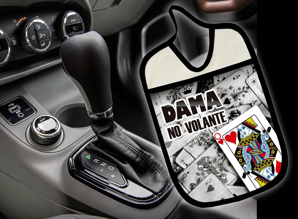 Lixinho E Porta Treco Para Carro: Dama No Volante  - RECANTO DA COSTURA