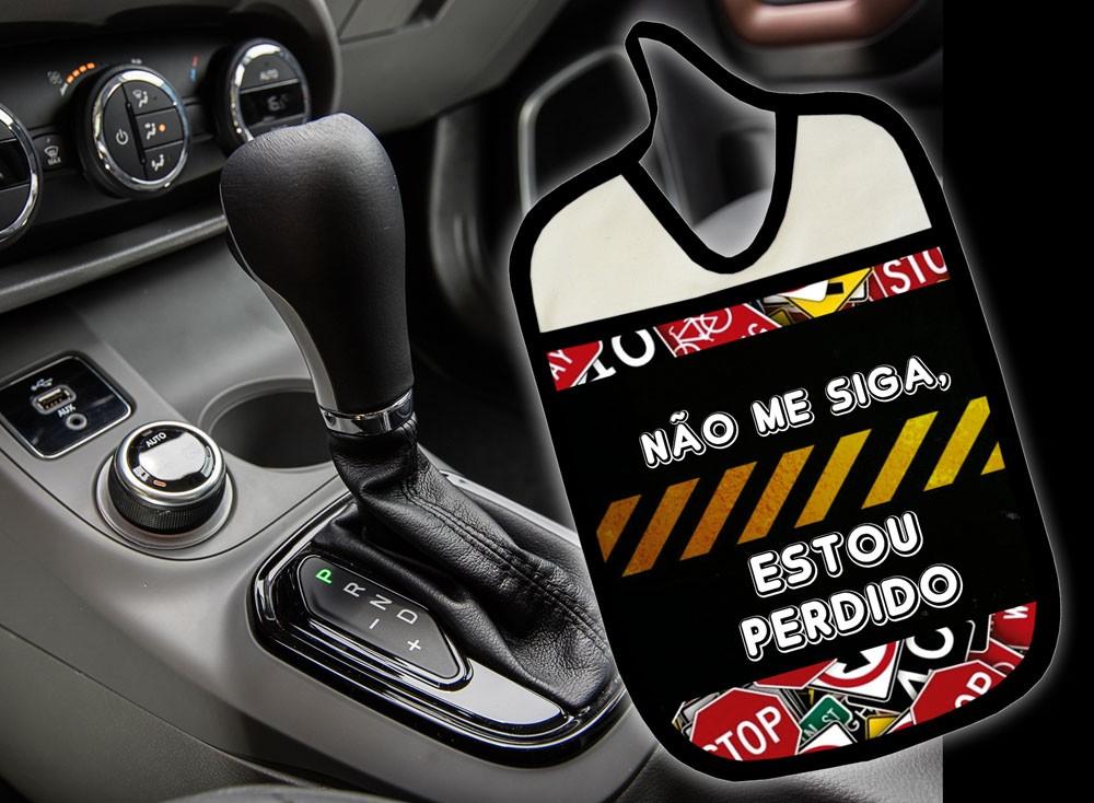 Lixinho E Porta Treco Para Carro: Não Me Siga  - RECANTO DA COSTURA