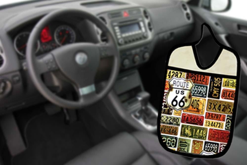 Lixinho E Porta Treco Para Carro: Placas  - RECANTO DA COSTURA