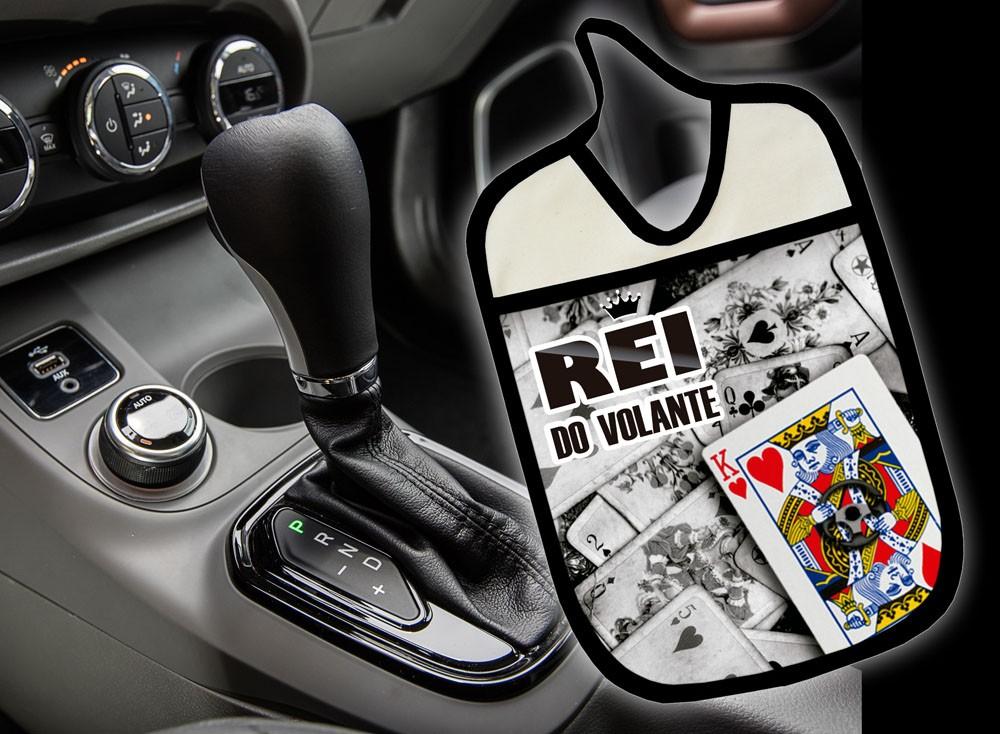 Lixinho E Porta Treco Para Carro: Rei Do Volante  - RECANTO DA COSTURA