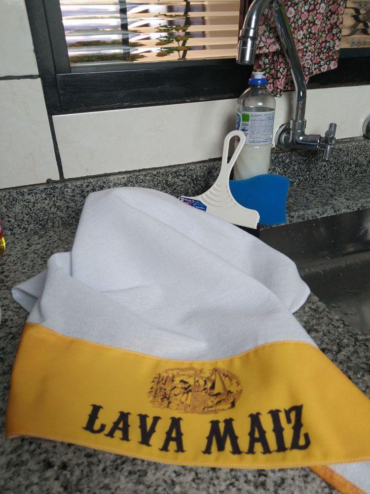 Pano De Prato Divertido Lava Maiz 3 Peças  - RECANTO DA COSTURA