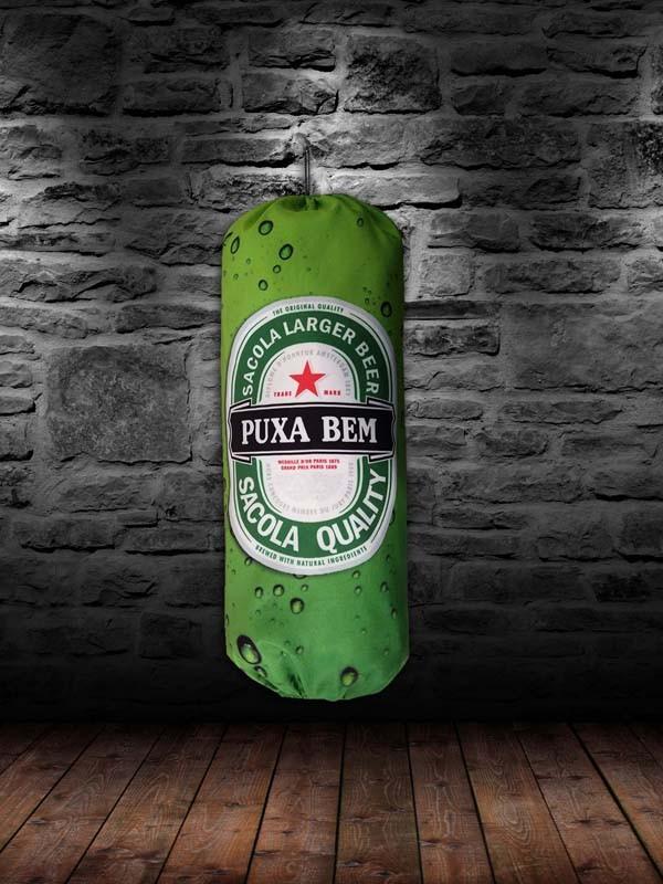 Puxa Saco Divertido Cerveja Puxa Ben  - RECANTO DA COSTURA