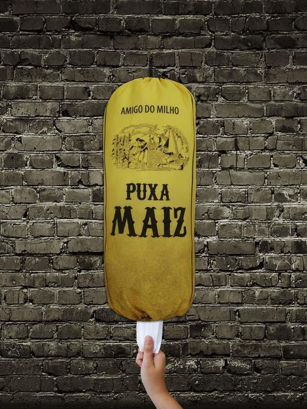Puxa Saco Divertido Puxa Maiz  - RECANTO DA COSTURA