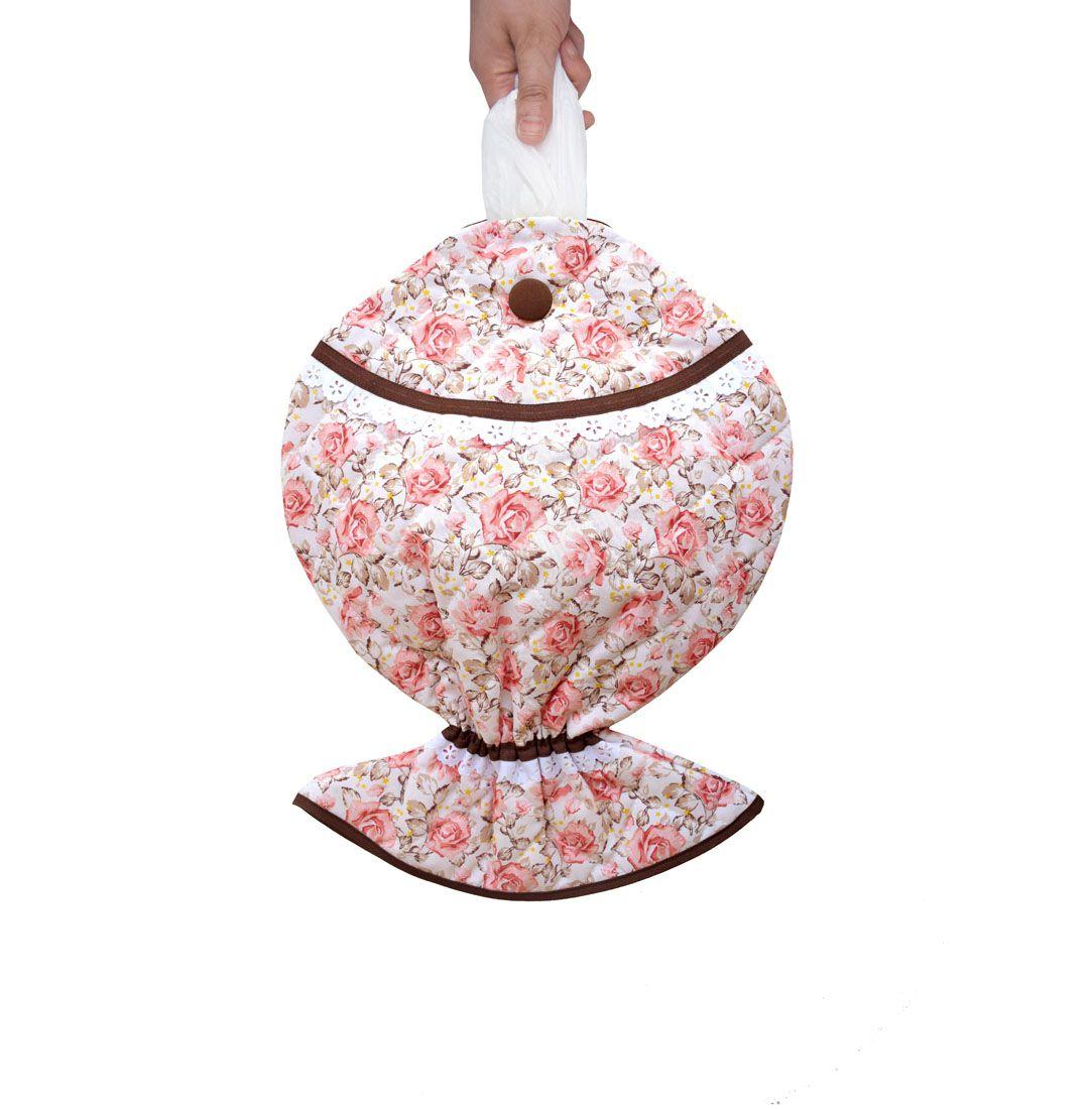 Puxa Saco Estampado Peixe® Floral  - RECANTO DA COSTURA