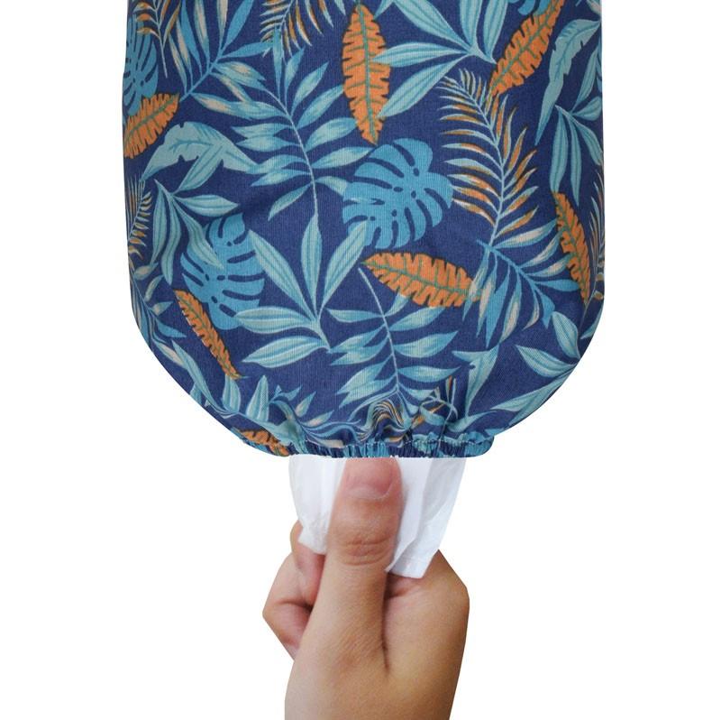 Puxa Saco Simples Azul Tropical  - RECANTO DA COSTURA