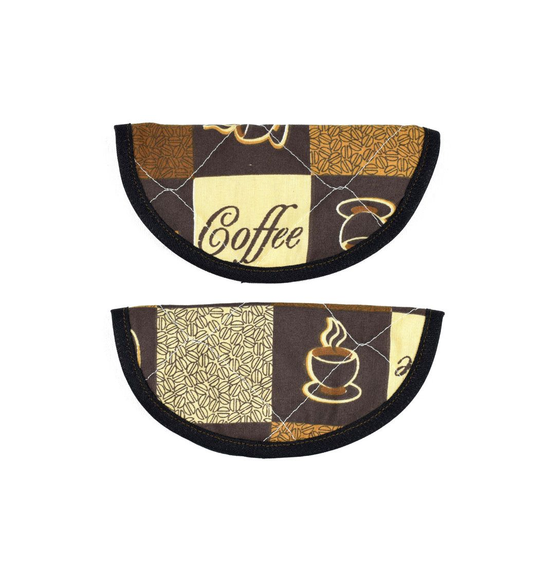 Puxador De Geladeira Ou Armário Café 2 Unidades  - RECANTO DA COSTURA