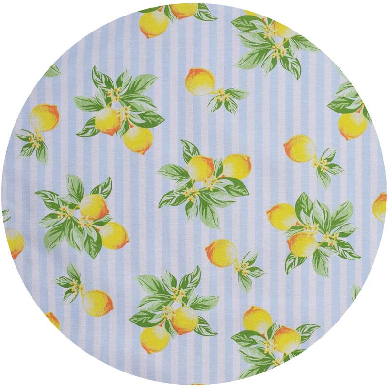 Sousplat Azul Limão  2 peças  - RECANTO DA COSTURA