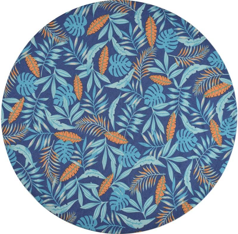 Sousplat Azul tropical 2 Unidades  - RECANTO DA COSTURA