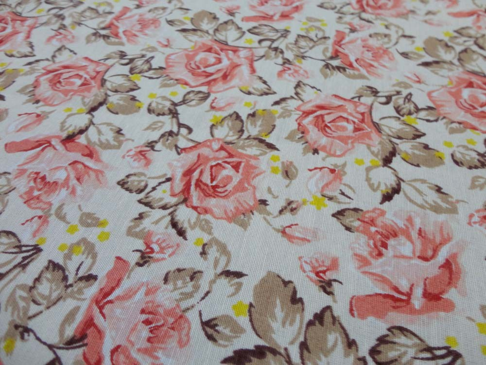 Toalha De Mesa Retangular Floral 2,20m X 1,50m  - RECANTO DA COSTURA
