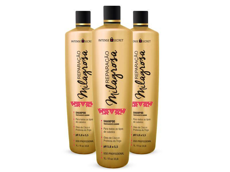 Combo Shampoo Reparação Milagrosa 1000ml