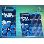 ExtraPower A675 / PR44 - 10 Cartelas - 60 Baterias para Aparelho Auditivo