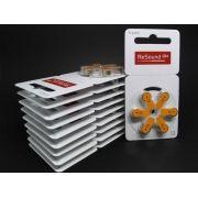 GN RESOUND 13 / PR48 - 10 Cartelas - 60 Baterias para Aparelho Auditivo