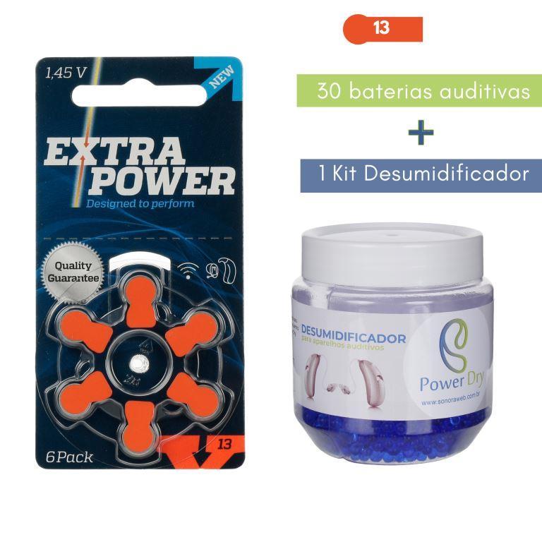 EXTRAPOWER 13 / PR48 - 5 Cartelas + Kit desumidificador PowerDry  - SONORA