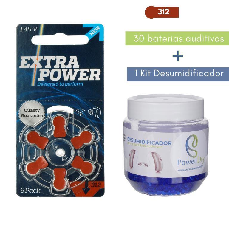 EXTRAPOWER 312 / PR41 - 5 Cartelas + Kit desumidificador PowerDry