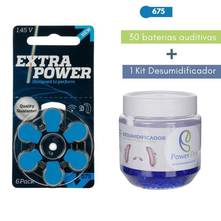 EXTRAPOWER 675 / PR44 - 5 Cartelas + Kit desumidificador PowerDry