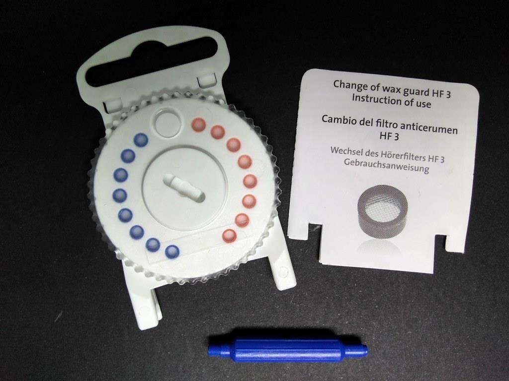 HF3 - Protetor de Cera  - Estojo com 16 unidades