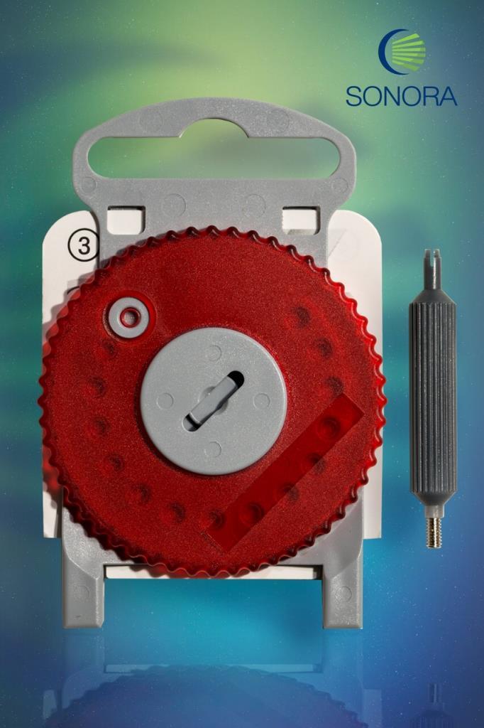 HF4 - Protetor de cera - Vermelho (Direito) - Estojo com 15 Unidades