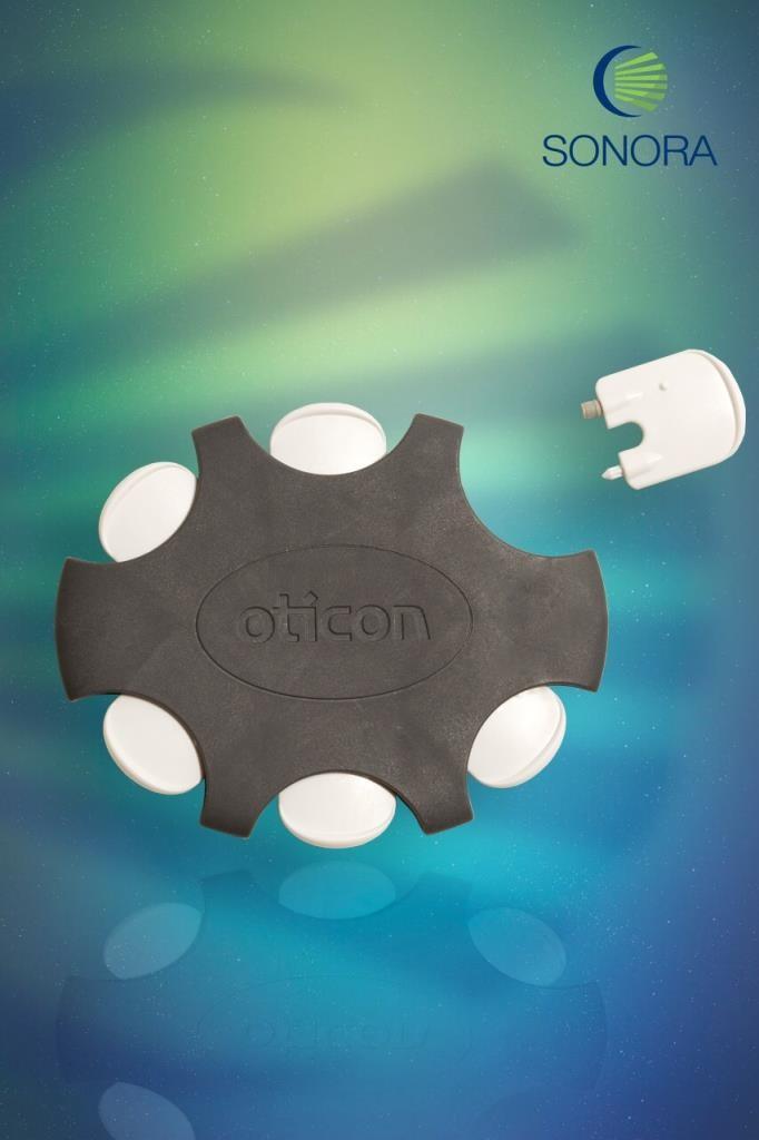 DAMPER (OTICON) - Filtro do Gancho - Estojo com 6 unidades  - SONORA