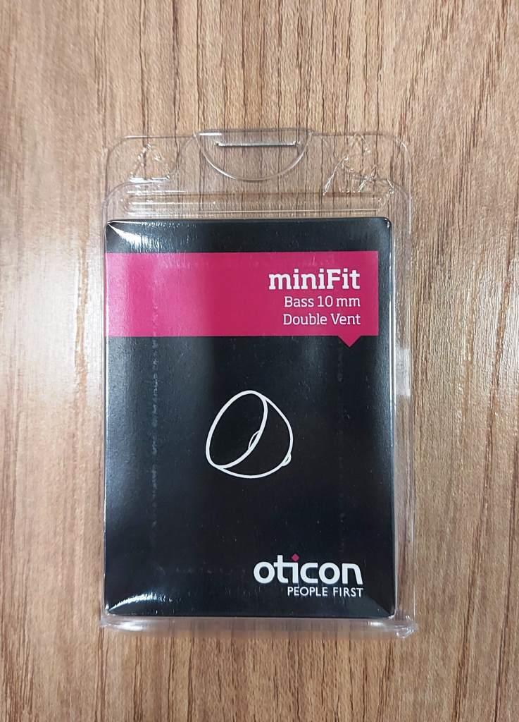 OTICON - DOMO BASS DOUBLE MINIFIT 10MM - 10 UNIDADES